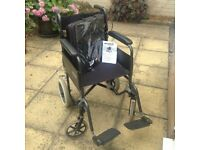 Light weight wheel chair and cushion