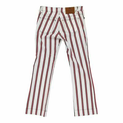 Vintage Gucci Jeans - 32W UK 10 Striped Cotton