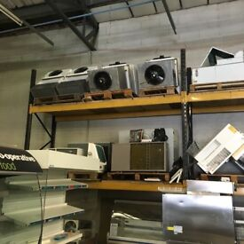 Complete commercial refrigeration warehouse stock for sale