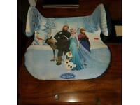 Frozen booster seat