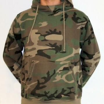 Army Hooded Woodland (Sweaters)