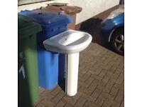 For sale bathroom white wash hand basin