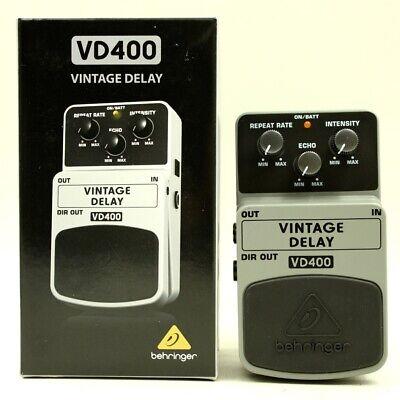 Behringer VD400 VINTAGE DELAY With original box Guitar effect pedal S1607547508