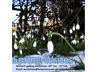 Spring Writes - Creative Writing Workshop (Norwich - 19th January 2018)