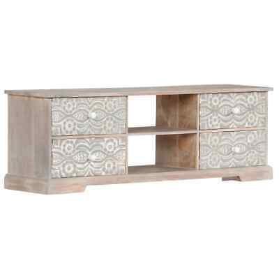 TV Cabinet 120x30x40 cm Solid Acacia Wood   Wood Furniture