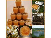 Real organic raw honey