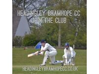 Looking for a cricket club? The season is nearly here!