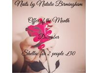Nails By Natalie Birmingham - Mobile Shellac & Gel Manicures & Pedicures B31 & Surrounding Areas