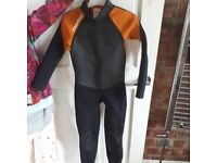 Childs full length wetsuit