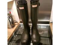 Men's size 11 hunter boots wellies
