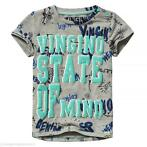 T-shirt Harco (light grey melee) | Vingino