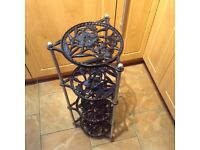 Cast iron pan stand 4 tier