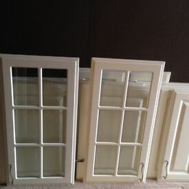 Cream kitchen doors