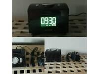 Ipod clock radio alarm