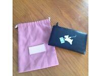 Radley purse with dust bag. Medium. Unused. 'Bon voyage'