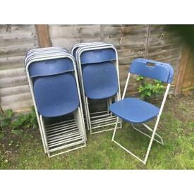 16 garden party folding chairs