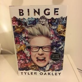 Signed copy of Tyler Oakley's Binge