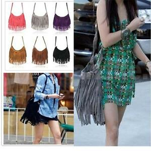 Fashion-Celebrity-Tassel-Suede-Fringe-Shoulder-Messenger-Handbag-Cross-Body-Bag