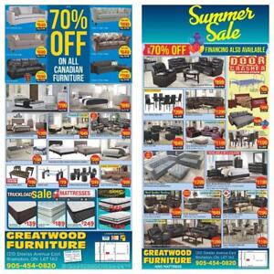 UP TO 70% OFF ON BRAND NEW FURNITURE
