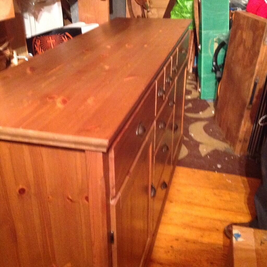 Solid oak Sideboard cabinet