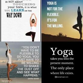 Charity Yoga Class for beginners and others