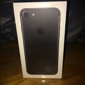 Brand New & Sealed Apple IPhone 7 Jet Black 128GB