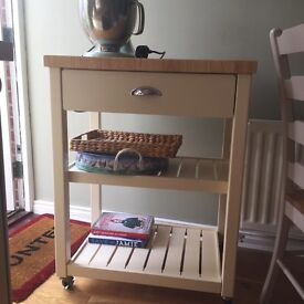 John Lewis butchers trolley - one year old in good condition