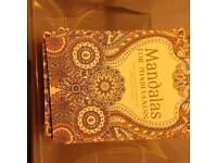 Job lot- 57 mandalas for mindfullness colouring books.