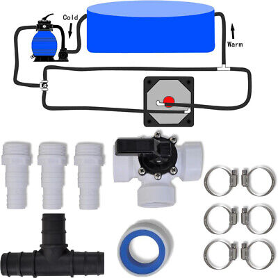 Bypass Kit for Above Ground Pool Swimming Solar Heater Heating System Spa