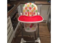 Baby Highchair unisex great condition