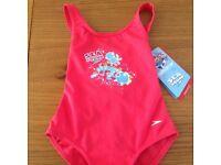 NEW SPEEDO baby girls age 1 swimsuit / swimming costume