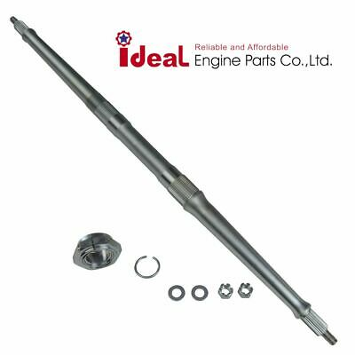 Yamaha Rear Wheel Axle Shaft With Lock Nut Warrior YFM350X YFM 350X 87~04
