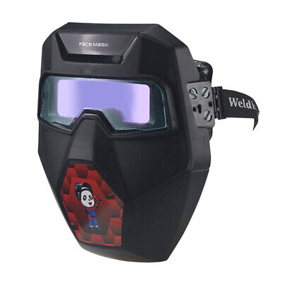 Pro Powered Auto Lightingdarkening Welding Helmet Arc Tig Mig Welder Mask Wlen