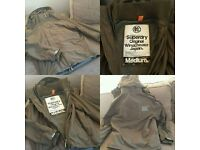 FOR SALE - Mens Khaki Superdry Coat - Size Medium