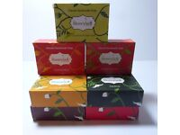 Twelve 100gms Crafted Organic Handmade Soaps. (Assorted Scents)