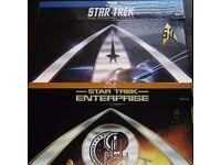 Star Trek Original Series 1966 & Enterprise Full Journey Blu Ray both New/Sealed