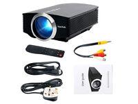 BRAND NEW,YAEKOO Mini Portable Projector 1200 lUMENS 1080P