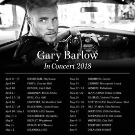 Must Go!!! Amazing seats!!!- Gary Barlow Tickets x 2 (Face Value) - Aberdeen 21st April