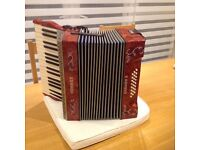 1930's Hohner Carmen 11 Piano Accordian