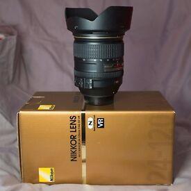 Nikon 24-120mm f/4G ED VR AF-S