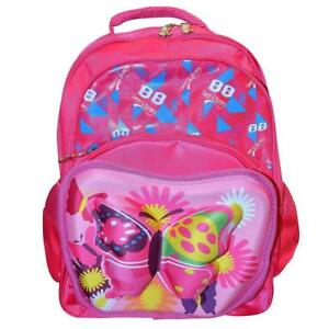 Todd Baby 3d Butterfly 'Pink' Backpack School Bag Rucksack for Kids 15 Inch