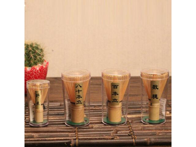 Japanese Bamboo Teaware Matcha Green Tea Powder Whisk 70-75 Prongs Chasen