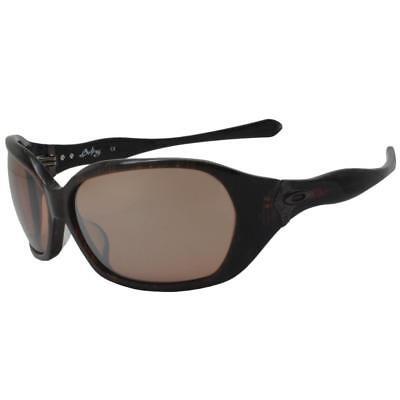 Oakley 05-897 Betray Sable Brown w/ VR28 Black Iridium Lens Womens Sunglasses (Betray Oakley Sunglasses)