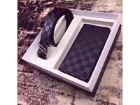 Louis Vuitton Belt and Wallet set