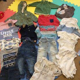 6-9 months boy clothes