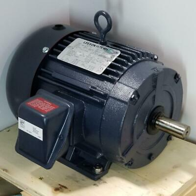 Leeson 2 Hp 1200 Rpm Tefc 230460 Volts 184t Frame 3 Phase Motor 199002.00