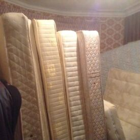 Mattresses,King, double and single,£20.00 to £75.00
