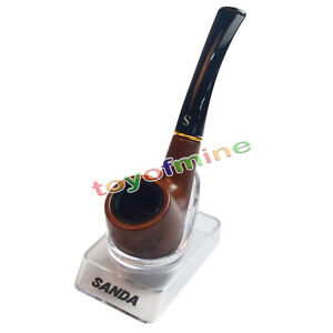 Tobacco Cigarettes Cigar Pipes Filter Gift Nice Wooden Smoking Pipe 2016 New