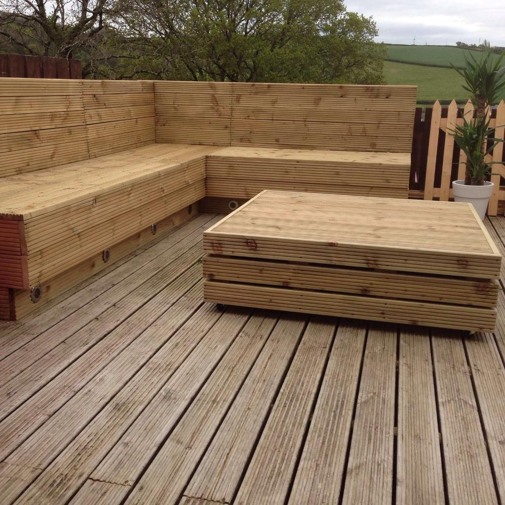 Pallet bench & table garden bench table seat | in Carmarthen ...