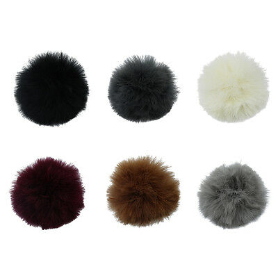 DIY 6 Colors Natural Turkey Feather Fluffy Pom pom Ball for KeyChain Bag Hat